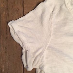 Polo by Ralph Lauren Tops - Polo Jeans Company clear sequence white t-shirt, M